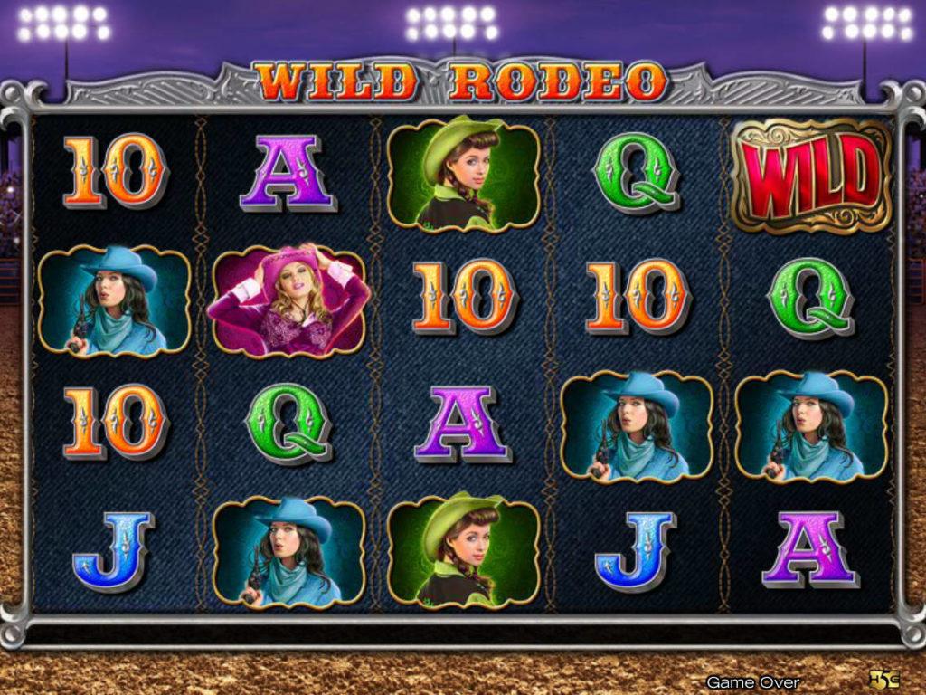 Obrázek casino automatu Wild Rodeo