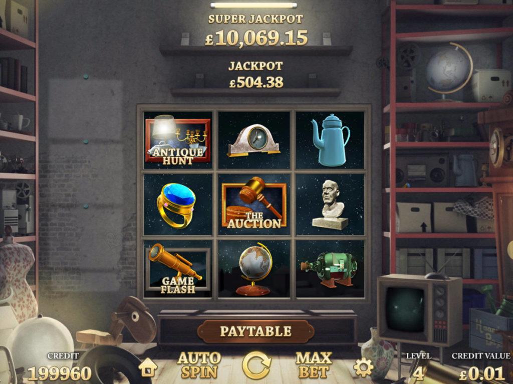 Online herní automat Auction Day zdarma