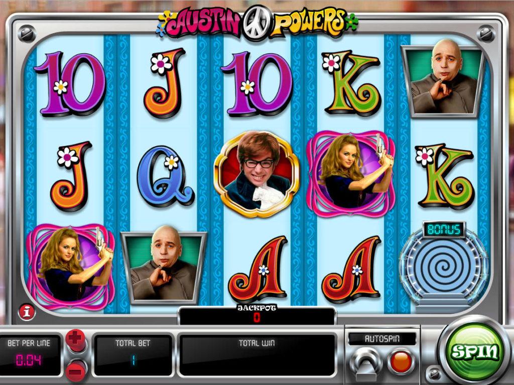 Casino automat Austin Powers