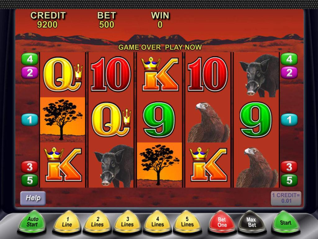 Online herní automat Big Red zdarma