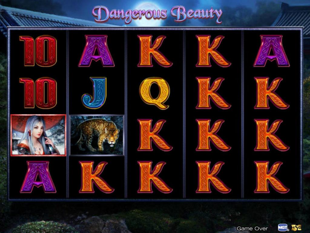 Casino automat Dangerous Beauty zdarma, bez vkladu