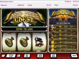 Dead Man's Chest kasino automat bez registrace