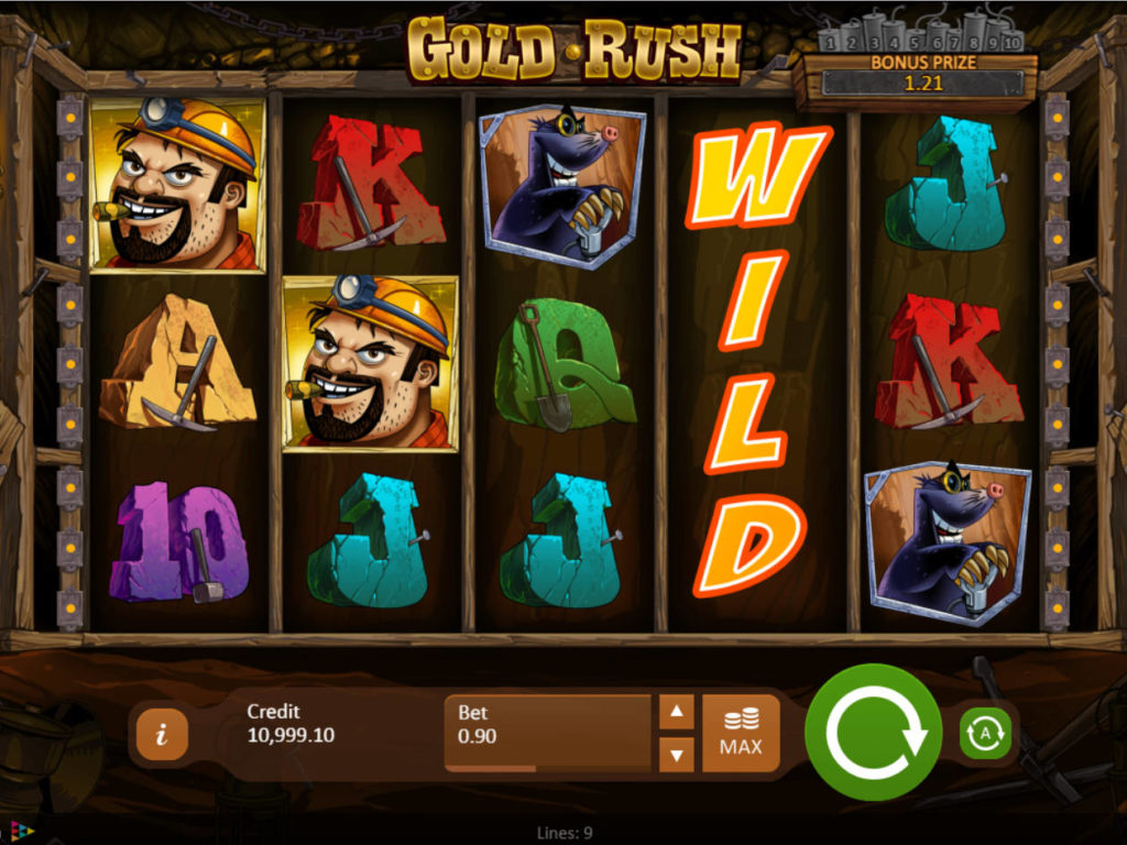 Casino automat Gold Rush zdarma