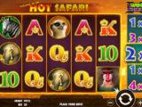 Obrázek z online casino automatu Hot Safari zdarma