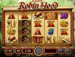 Zahrajte si online casino automat Lady Robin Hood zdarma
