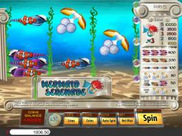 Online casino automat Mermaid Serenade zdarma