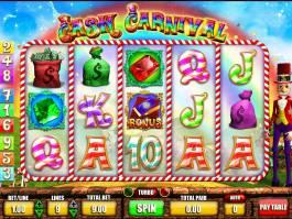 Zahrajte si online herní automat Willy Wonga: Cash Carnival