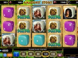 Herní automat Amazon´s Story bez stahování