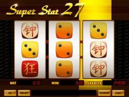 Casino automat Super Star 27