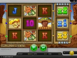 Online herní automat Badlands Bounty zdarma