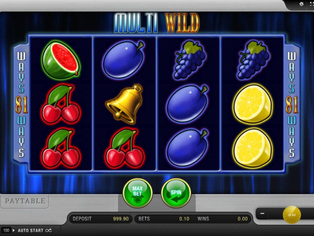 Obrázek online casino automatu Multi Wild zdarma