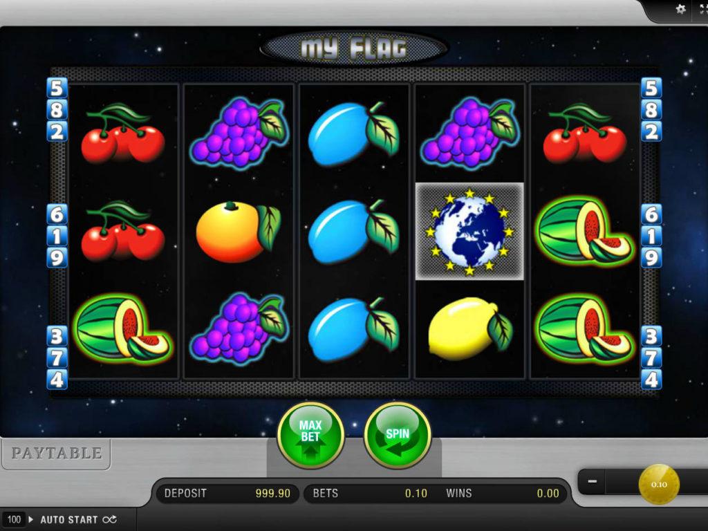 Zábavný online herní automat My Flag zdarma