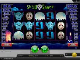 Casino automat Skull Shock zdarma bez vkladu