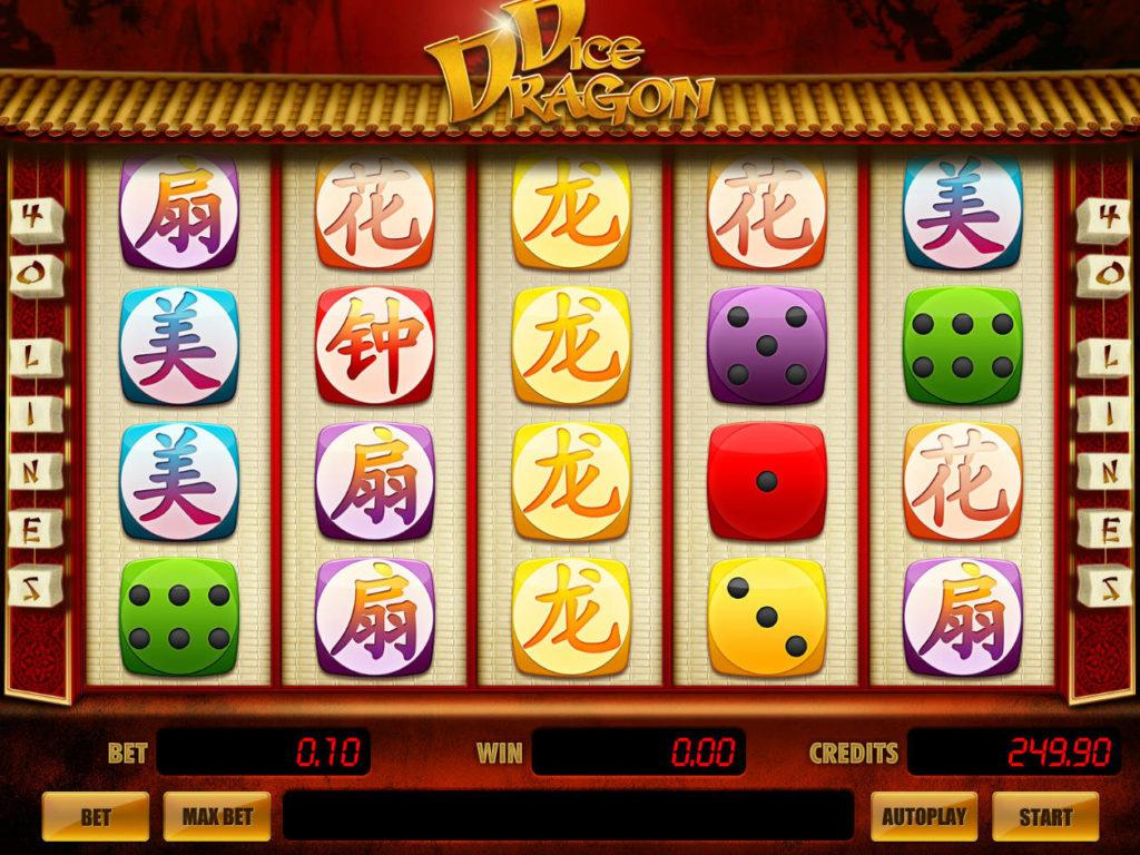 Online casino automat Dice Dragon bez registrace