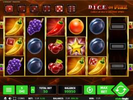 Casino automat Dice on Fire bez registrace