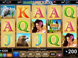 Online casino automat Route of Mexico bez vkladu