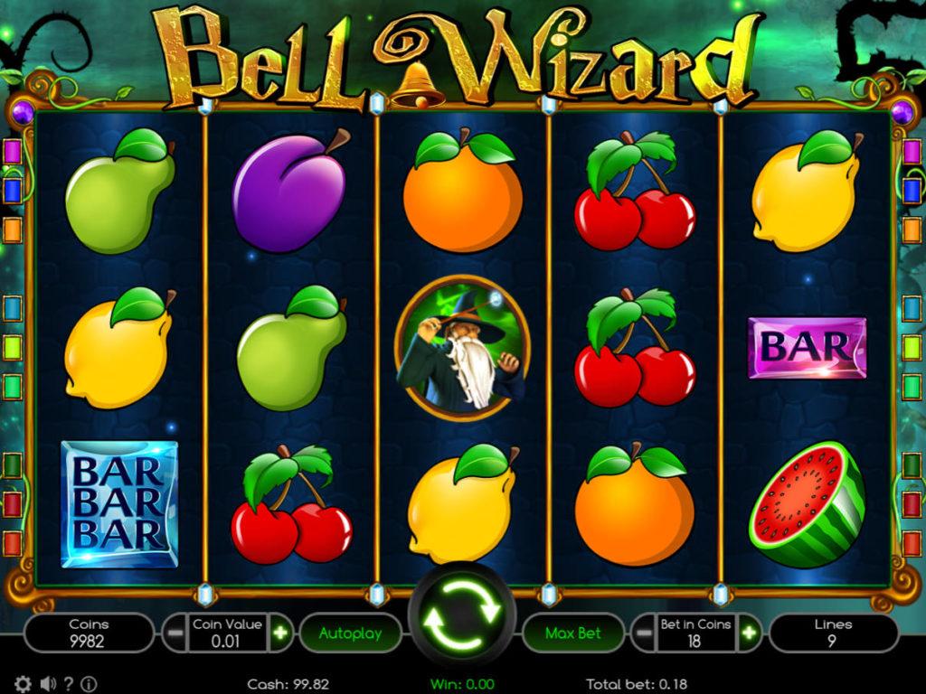 Casino automat Bell Wizard zdarma, bez registrace