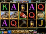 Zábavný online casino automat Gold Dust