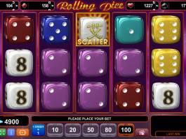 Zahrajte si casino automat Rolling Dice bez vkladu