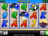 Casino automat Tropical Heat bez vkladu