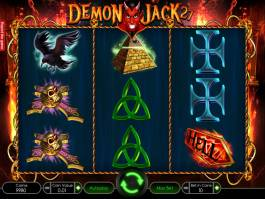 Roztočte casino automat Demon Jack 27