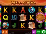 Online casino automat Disc of Athena bez stahování