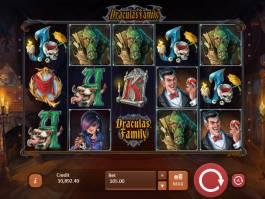 Zábavný casino automat Dracula´s Family