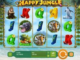 Zahrajte si casino automat Happy Jungle zdarma
