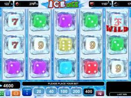 Zahrajte si zábavný casino automat Ice Dice