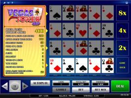 Casino automat Joker Vegas 4up