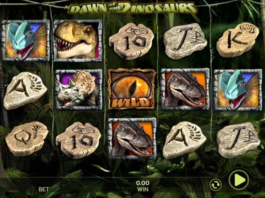 Casino automat Dawn of the Dinosaurs bez vkladu