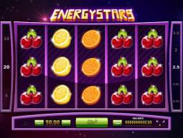 Casino automat Energy Stars zdarma, bez vkladu