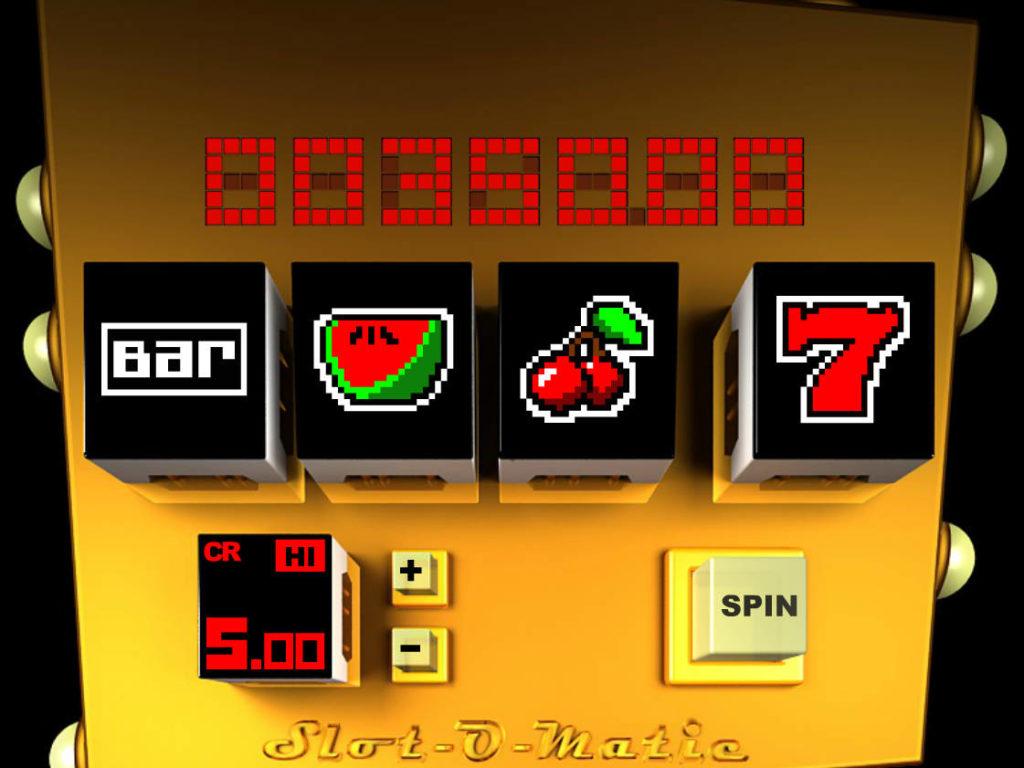 Online casino automat Slot-O-Matic