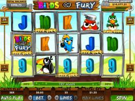Online casino automat Birds of Fury zdarma