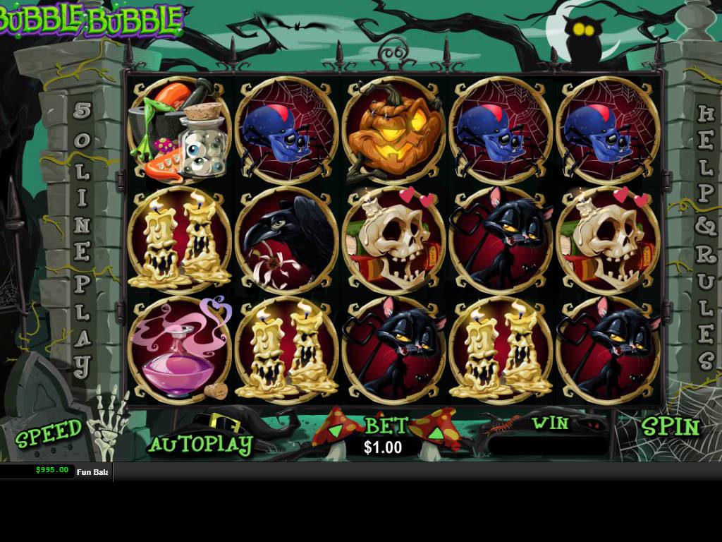 Casino automat Bubble Bubble online