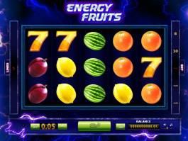 Obrázek online casino automatu Energy Fruits