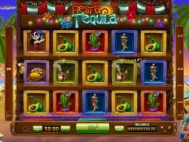 Zábavný casino automat Tequila Fiesta bez vkladu