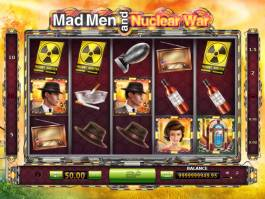 Online casino automat Mad Men and Nuclear War zdarma