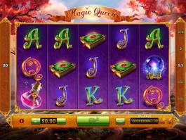 Online casino automat Magic Queens