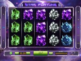Roztočte casino automat Star Fortune online