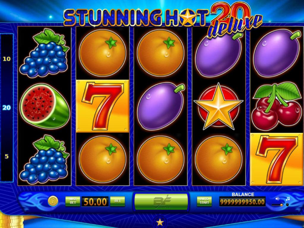 Online herní automat Stunning Hot 20 Deluxe zdarma, bez vkladu