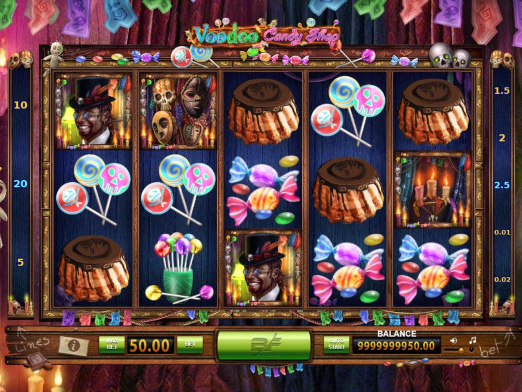 Voodoo Candy Shop výherní automat bez registrace