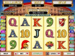 Casino automat Caesar´s Empire zdarma