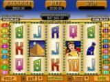Zábavný herní automat Cleopatra´s Gold