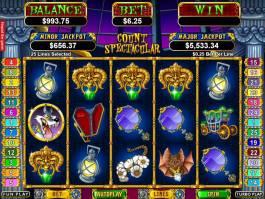Online herní automat Count Spectacular zdarma