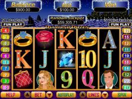 Zábavný online casino automatu Diamond Dozen