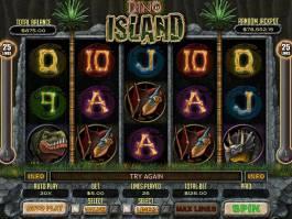 Online casino automat Dino Island zdarma, bez vkladu