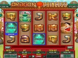 Online casino automat Dragon Princess zdarma, od společnosti RTG