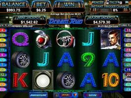 Online casino automat Dream Run se spiny zdarma
