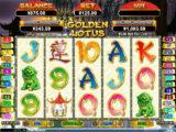 Online casino automat Golden Lotus od společnosti RTG